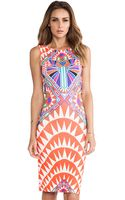 Mara Hoffman Side Cutout Fitted Dress - Lyst