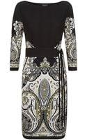 Etro Paisley Tunic Dress with Belt - Lyst