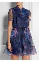 Matthew Williamson Printed Organza Mini Dress - Lyst