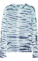 Proenza Schouler Tie-dye Cotton-jersey Top - Lyst