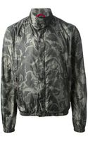 Fay Camouflage Print Jacket - Lyst