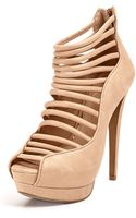 Jessica Simpson Segal Caged Platform Sandals - Lyst