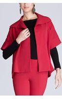 Natori Wool Blend Jacket - Lyst
