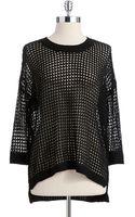 Dex Loose Knit Hilo Sweater - Lyst