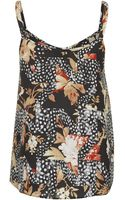 Topshop Maternity Toile Star Print Cami - Lyst