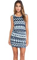Velvet By Graham & Spencer Brianna Summer Ikat Dress - Lyst