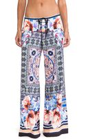 Clover Canyon Byzantine Scarf Wide Leg Pant - Lyst