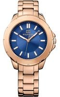 Tommy Hilfiger Womens Rose Gold Ion-plated Stainless Steel Bracelet Watch 38mm - Lyst