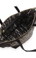 Kelsi Dagger Abbey Leopardprint Calf Hair Satchel Bag Black - Lyst