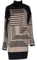 Jean Paul Gaultier Short Dress - Lyst