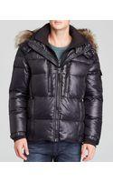 Sam. Mountain Down Jacket with Fur Trim - Lyst