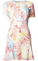 Moschino Tie Dye Dress - Lyst