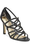 Adrianna Papell Elda Caged Evening Sandals - Lyst