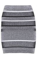 T By Alexander Wang Stretchcotton Tube Skirt - Lyst