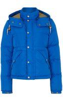 Polo Ralph Lauren Elmwood Padded Coat with Detachable Hood - Lyst