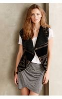 Twelfth Street Cynthia Vincent Shearling Sweater Vest - Lyst
