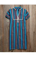 Free People Vintage Striped Dress - Lyst
