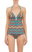 Missoni Multicolor Zigzag Twopiece Triangle Bikini - Lyst