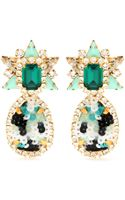 Shourouk Galaxy Sequins Clip-on Earrings - Lyst