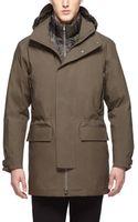 Ermenegildo Zegna 3 Layer Parka Jacket - Lyst