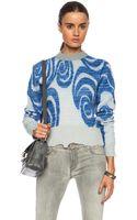 Acne Studios Gaze Wool Blend Sweater - Lyst