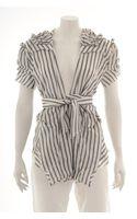Marni Striped Jacket - Lyst