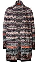 Missoni Variegated Knit Cardigan - Lyst