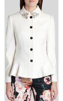 Ted Baker  Jodyn Embellished Peplum Jacket - Lyst
