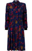Givenchy Vintage Floral Dress - Lyst