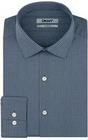 DKNY Graphic Check Dress Shirt - Lyst