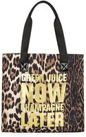 Juicy Couture Green Juice Now Tote Bag - Lyst