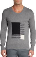 Burberry Brit Eabel Tonal Graphic Box Pullover - Lyst