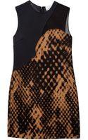 3.1 Phillip Lim Patchwork Dress - Lyst