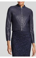 Vince Camuto Quilted Leather Jacket Bloomingdales Exclusive - Lyst