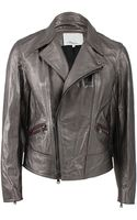 3.1 Phillip Lim Leather Motorcycle Jacket - Lyst