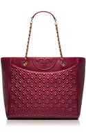 Tory Burch Fleming Ew Tote - Lyst