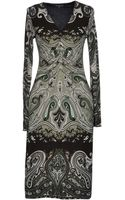 Etro Kneelength Dress - Lyst