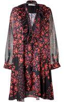 Preen Line Crepe De Chine Printed Georgette Broadley Dress - Lyst