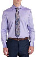Ted Baker Twill Cotton Smart Shirt - Lyst