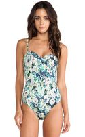 Nanette Lepore Hula Hibiscus Seductress One Piece - Lyst