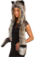 Spirit Hoods Grey Wolf - Lyst