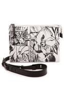 McQ by Alexander McQueen Printed Cross Body Bag  White Manga - Lyst