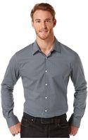 Perry Ellis Chevron Print Shirt - Lyst
