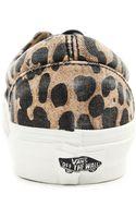 Vans California Era Leopard Print Sneakers - Lyst