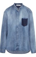 Balmain Chambray Shirt - Lyst