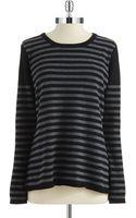 Calvin Klein Striped Sweater - Lyst