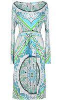 Emilio Pucci Mid Length Dress - Lyst