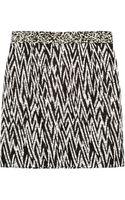 Proenza Schouler Faux Raffia-jacquard Mini Skirt - Lyst