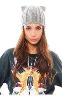 Eugenia Kim Felix Knit Cap with Cat Ears - Lyst