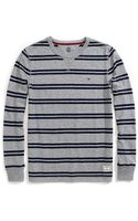 Tommy Hilfiger Long Sleeve Stripe Jersey - Lyst